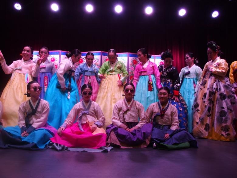Concert de Gyeonggi Sori au musée folklorique national de Corée (Corée du Sud) 20 juin 2016 © Tango tout horizon