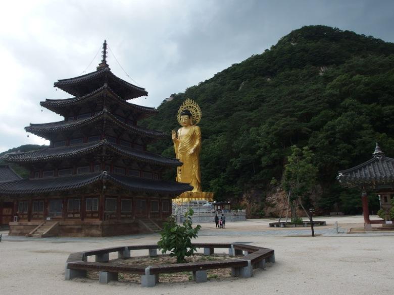 Temple de Beopjusa (Corée du sud) 5 juillet 2016 © Tango tout horizon
